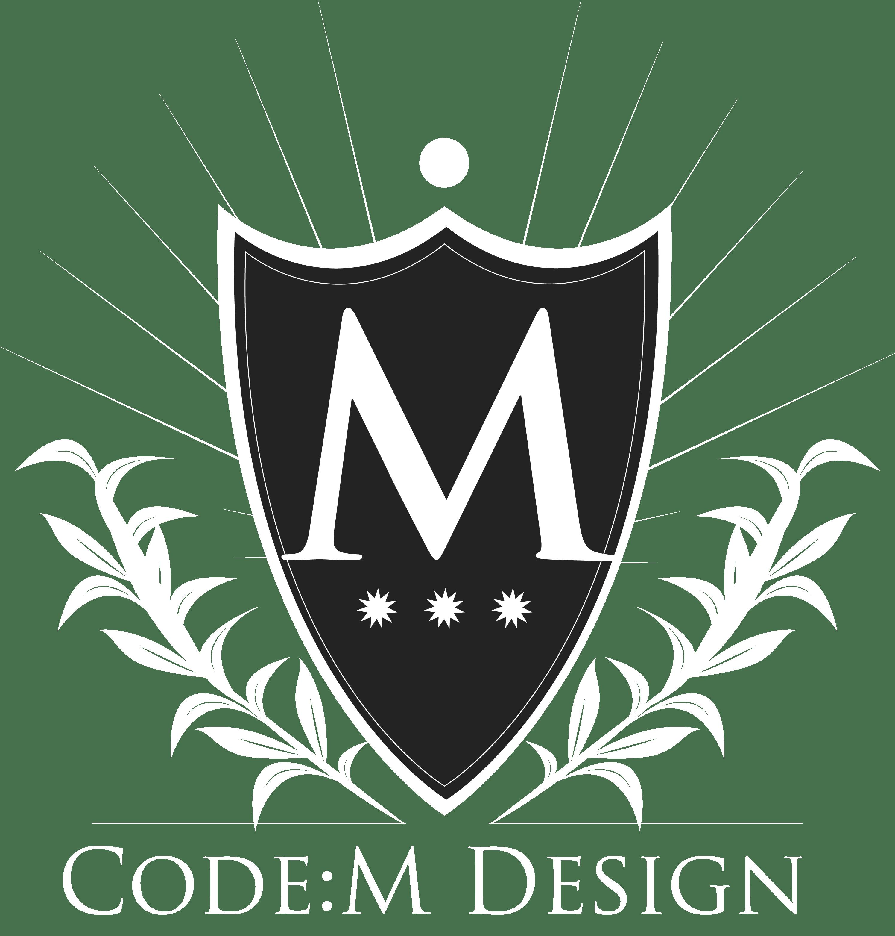 CodeM Design Logo